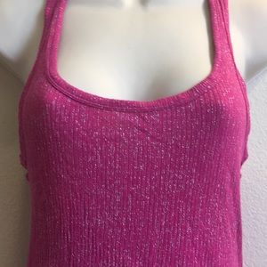 💋 3 for $15! FOREVER 21 Pink Sparkle Tank M